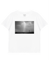 Holly Light Print T-Shirt in White - T-Shirts - INTERMISSION - BRANMA