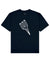 Blivet Print T-Shirt in Navy