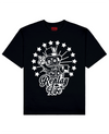 Replay Life Print T-Shirt in Black - T-Shirts - THEYLIVE - BRANMA