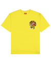 Game Of Death Print T-Shirt in Yellow - T-Shirts - THEYLIVE - BRANMA