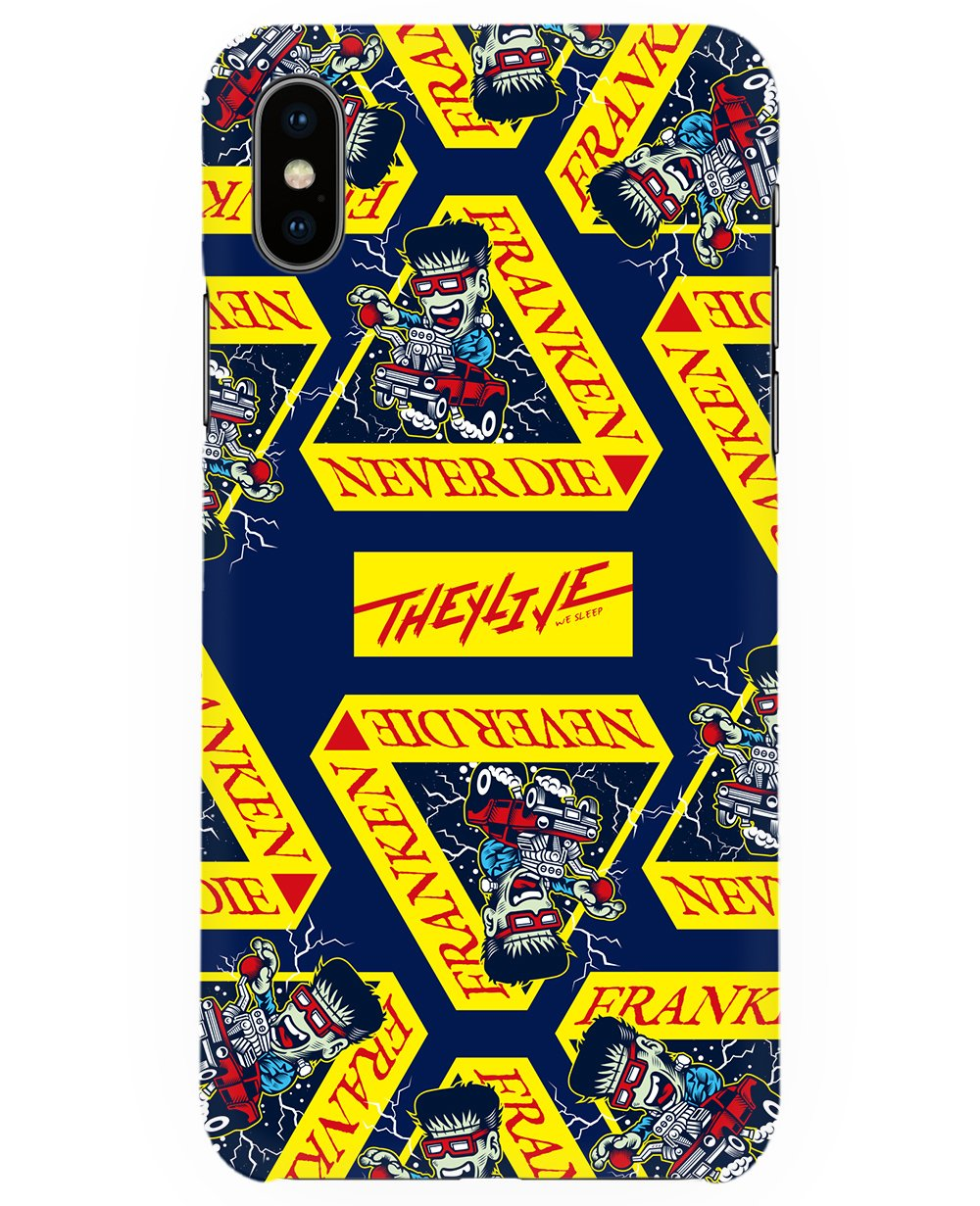 Franken Print Iphone Case - Phone cases - THEYLIVE - BRANMA