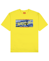 UMA Collection : Loch Ness Monster Print T-Shirt in Yellow - T-Shirts - THEYLIVE - BRANMA