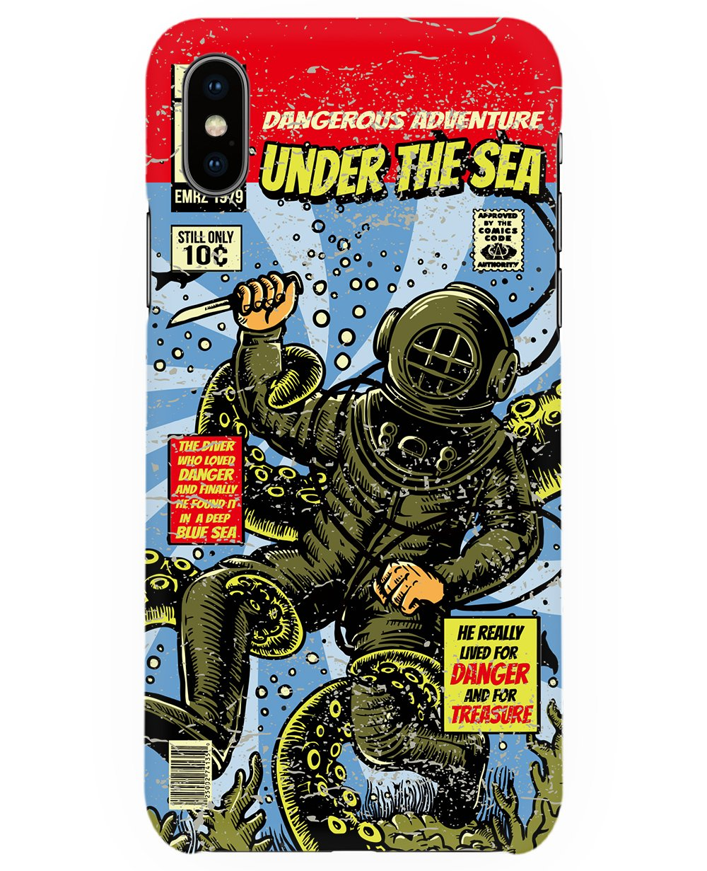 Under The Sea Print Iphone Case - Phone cases - THEYLIVE - BRANMA