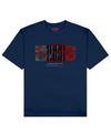Canniba Holocaust Print T-Shirt in Blue - T-Shirts - THEYLIVE - BRANMA