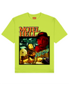 Motel Hell Print T-Shirt in Light Green - T-Shirts - THEYLIVE - BRANMA