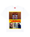 The Shining Print T-Shirt in White - T-Shirts - THEYLIVE - BRANMA