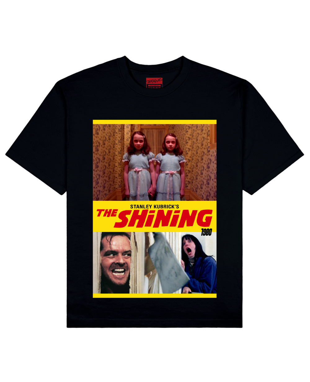 The Shining Print T-Shirt in Black - T-Shirts - THEYLIVE - BRANMA