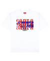 SANTA CLAUS Print T-Shirt in White - T-Shirts - THEYLIVE - BRANMA
