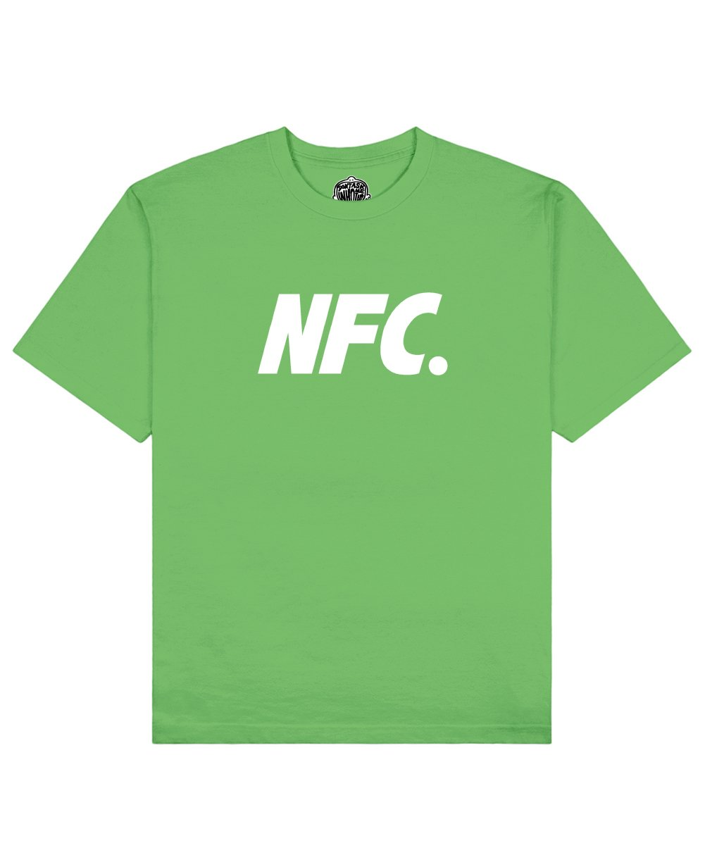 NFC Print T-shirt in Green - T-Shirts - Don't ask me who I am - BRANMA