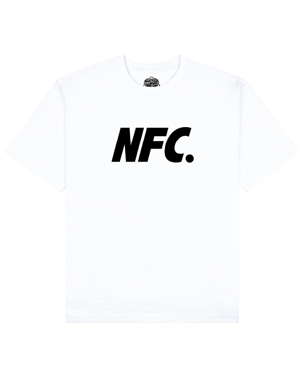 NFC Print T-shirt in White - T-Shirts - Don't ask me who I am - BRANMA