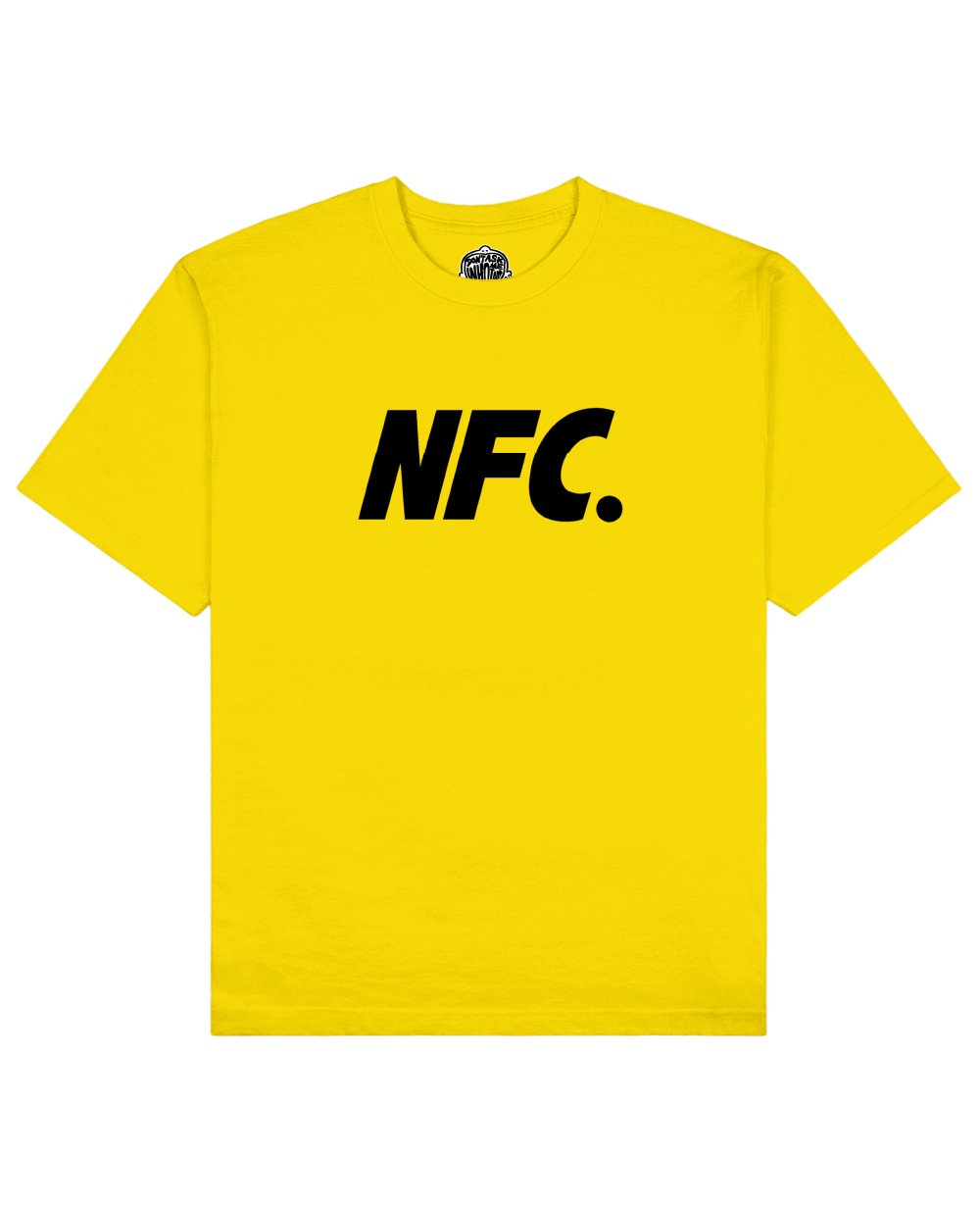 NFC Print T-shirt in Yellow - T-Shirts - Don't ask me who I am - BRANMA