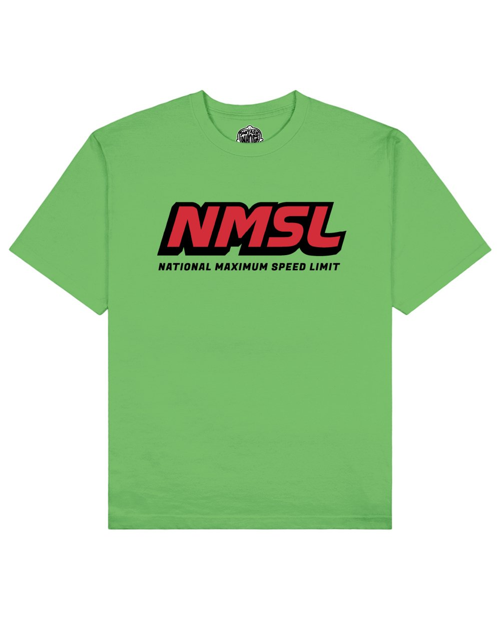 NMSL Print T-shirt in Green - T-Shirts - Don't ask me who I am - BRANMA