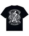 Axe Print T-Shirt in Black - T-Shirts - MOBY DICK - BRANMA