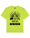 Street Rebellion Print T-Shirt in Light Green - T-Shirts - MOBY DICK - BRANMA