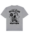 Revolution Print T-Shirt in Gray - T-Shirts - MOBY DICK - BRANMA