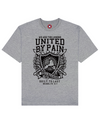 United By Pain Print T-Shirt in Gray - T-Shirts - MOBY DICK - BRANMA