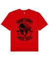 Born To Ride Print T-Shirt in Red - T-Shirts - MOBY DICK - BRANMA