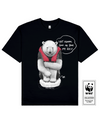 FLOATING PALOR Printed T-Shirt in Black - T-Shirts - Milk DoNg Comics - BRANMA