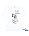 FISHNET PHOCOENA Printed T-Shirt in White - T-Shirts - Milk DoNg Comics - BRANMA