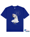 FISHNET PHOCOENA Printed T-Shirt in Blue - T-Shirts - Milk DoNg Comics - BRANMA