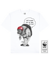 CLIFFJUMPING WALRUS Printed T-Shirt in White - T-Shirts - Milk DoNg Comics - BRANMA