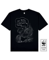 POLITICAL DOG Printed T-Shirt in Black - T-Shirts - Milk DoNg Comics - BRANMA