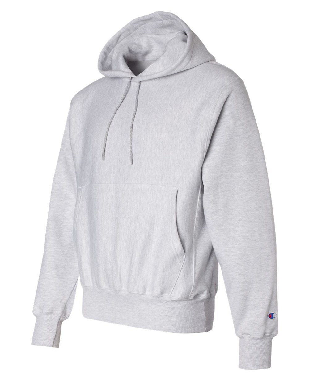 Sleeve Logo Pullover Hoodies in Ash