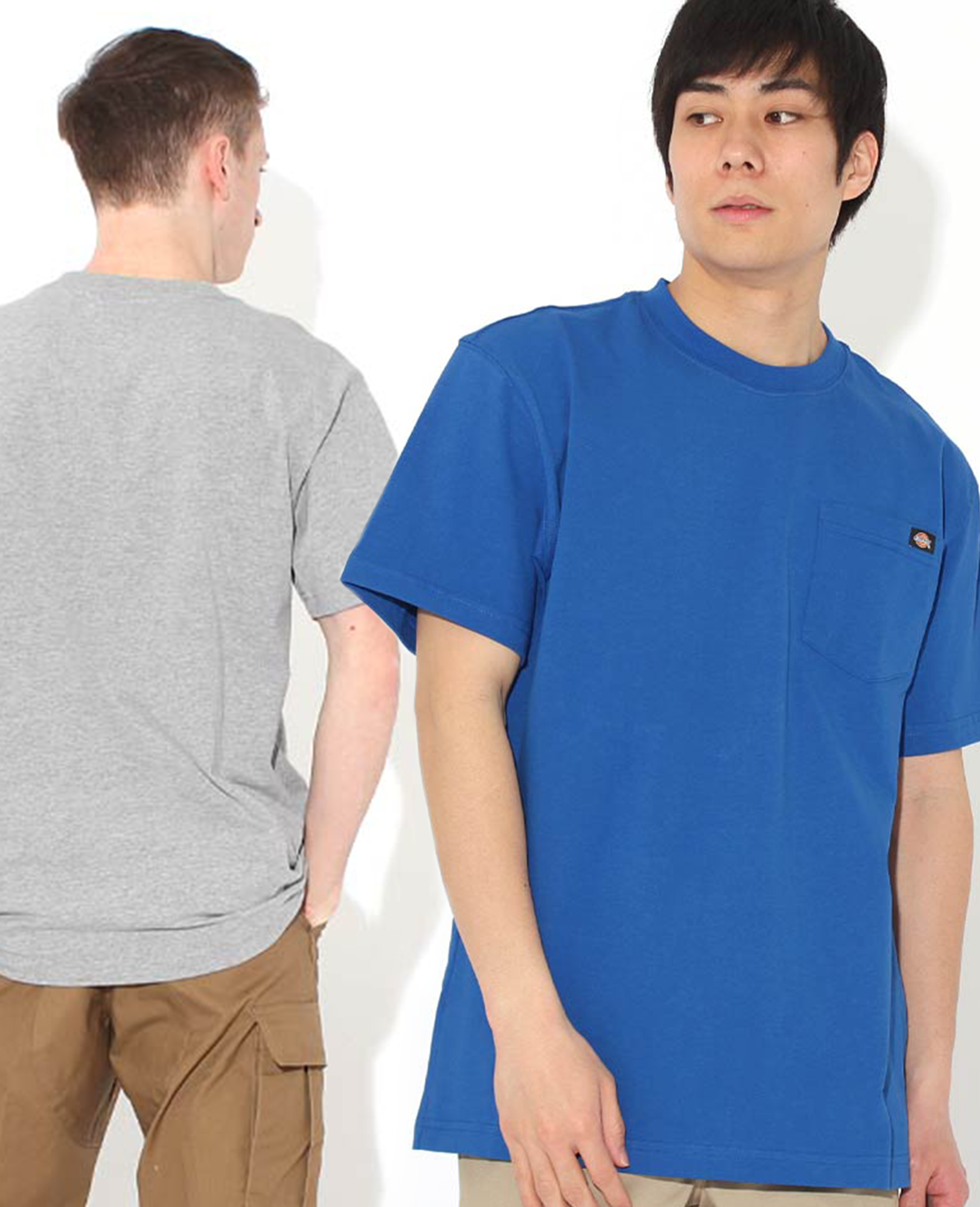 Basic Series Heavyweight Pocket T-shirt - T-Shirts - Dickies - BRANMA