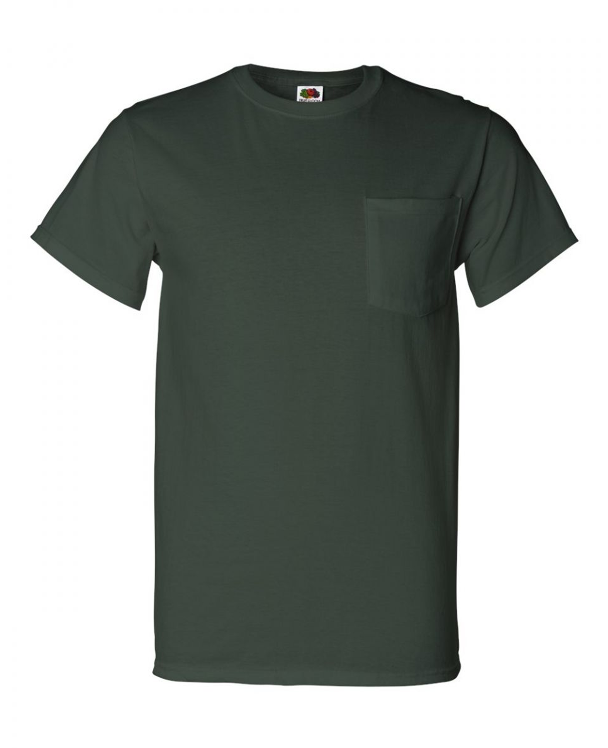 Chroma series Pocket T-shirt - T-Shirts - Fruit of the loom - BRANMA