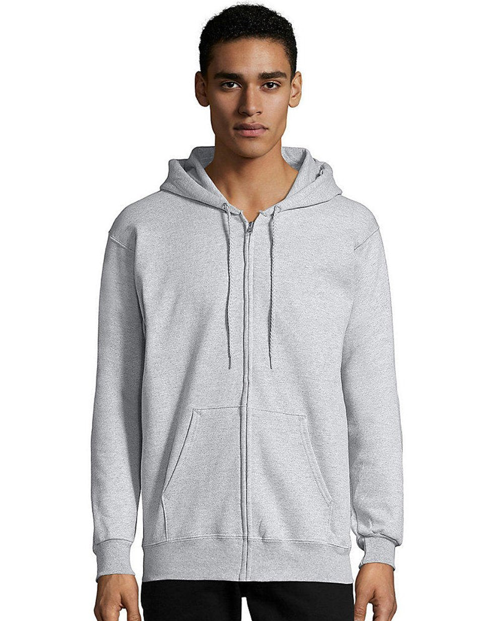 Zip-up Hoodie in Ash