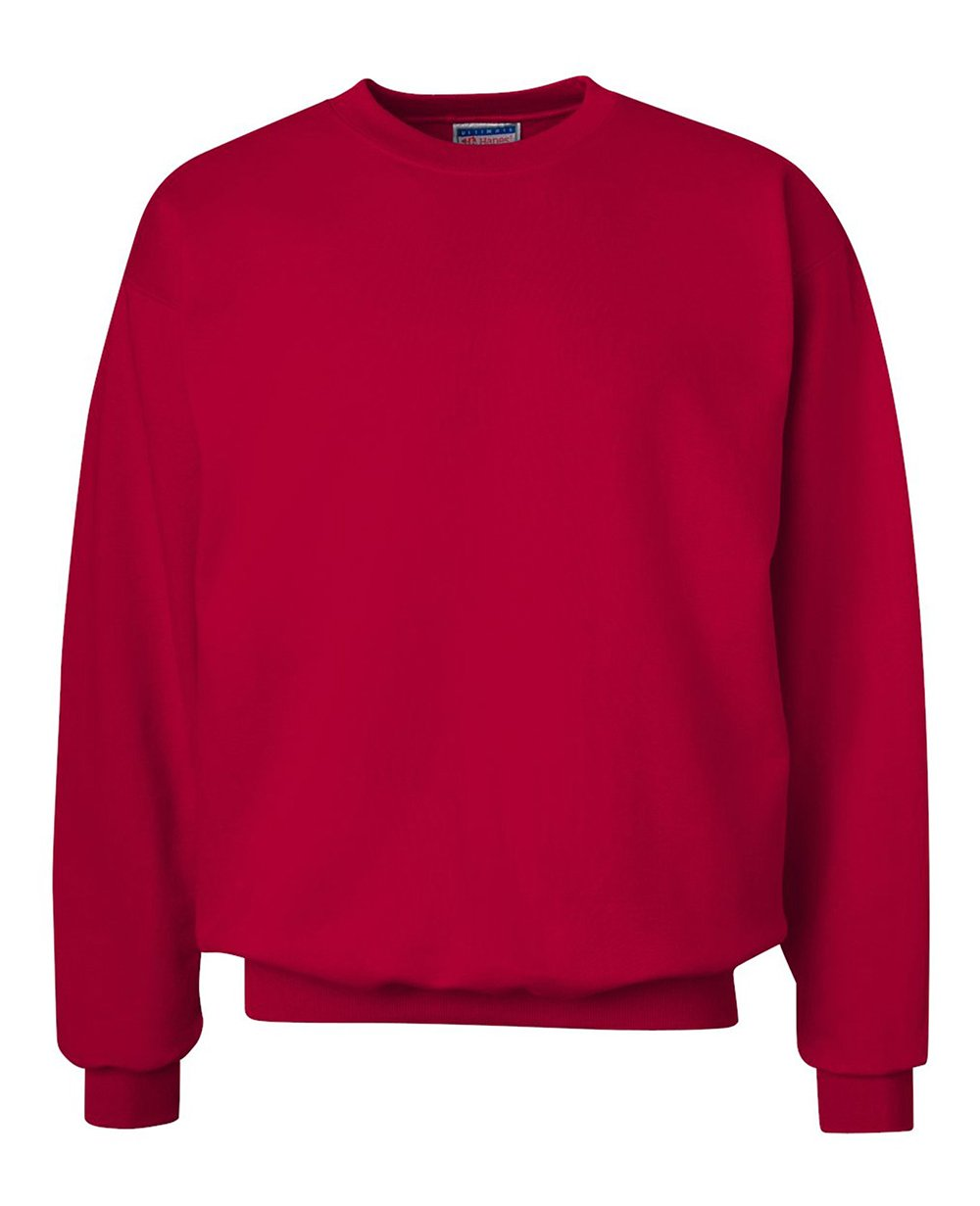 Sweater in Deep Red