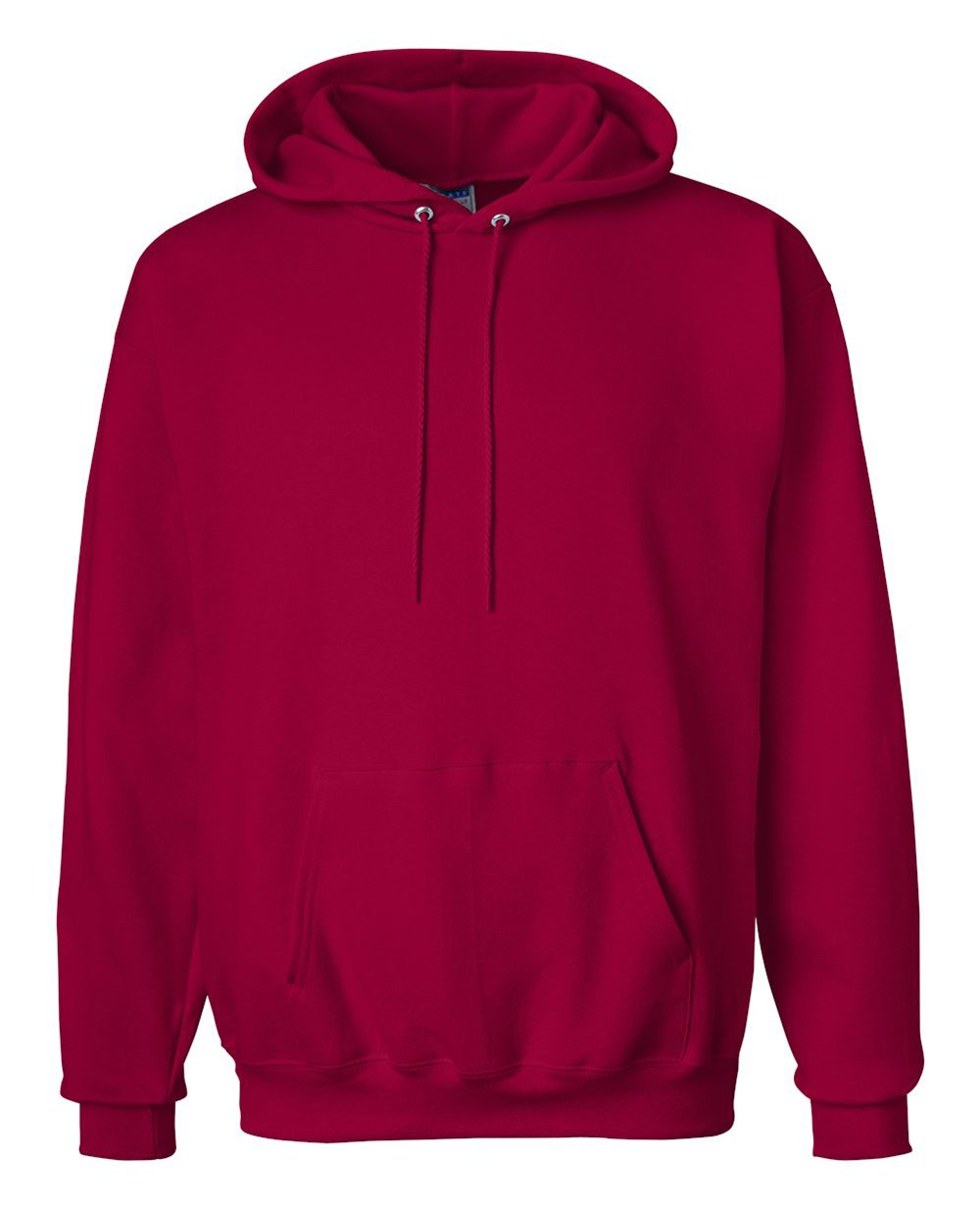 Pullover Hoodies in Deep Red