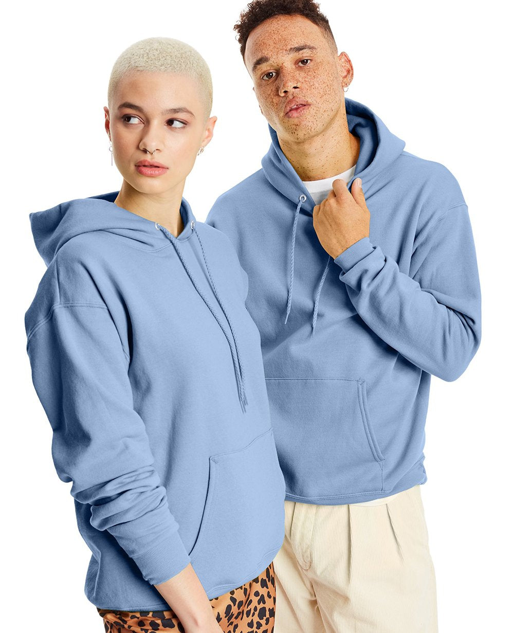 Pullover Hoodies in Light Blue