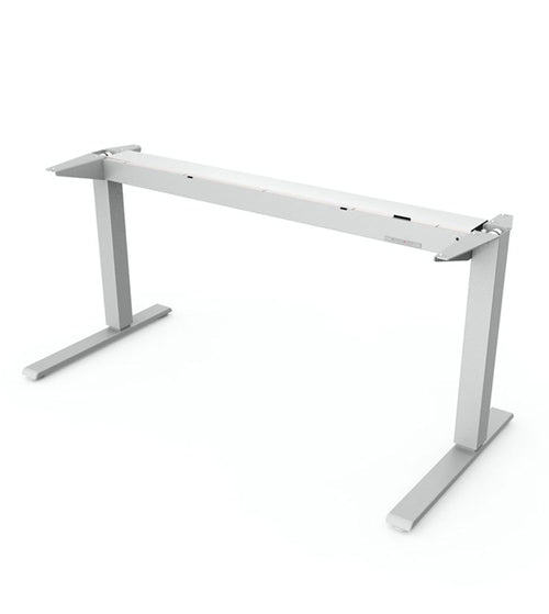 HUMANSCALE FLOAT TABLE BASE ONLY 1600+ 600 SILVER - POS Deals
