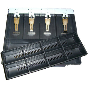 VPOS CASH DRAWER INSERT 4N/8C EC350 - POS Deals