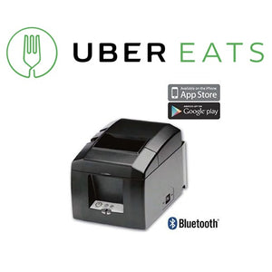 UBEREATS STAR TSP654II BLUETOOTH THERMAL RECEIPT PRINTER - POS Deals