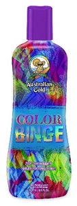 Australian Gold, Sunbed Tanning Lotion, Color Binge