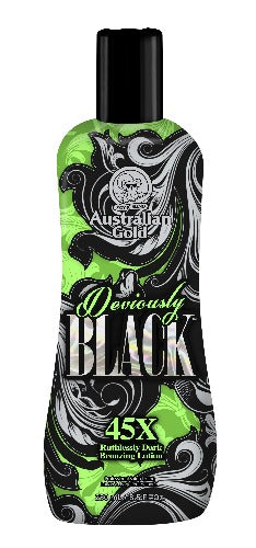 Australian Gold, Sunbed Tanning Lotion, Deviously Black
