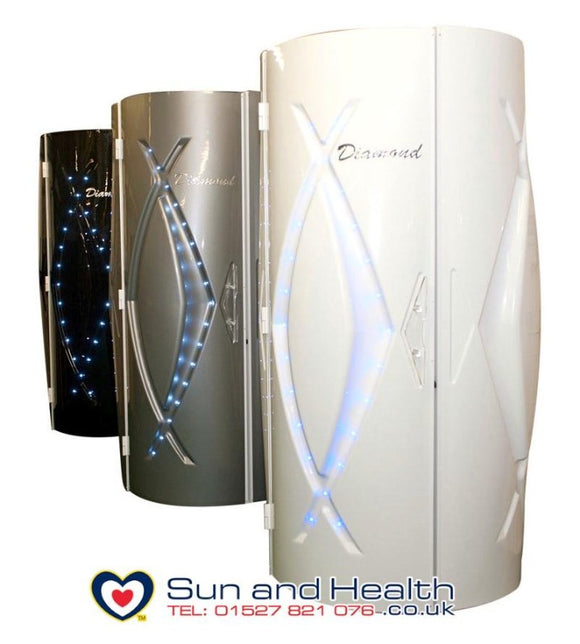 Commercial Stand Up Sunbeds, Diamond