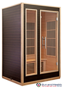 Harvia, Infrared Sauna, Sauna, Two Person Sauna, Sauna UK, Home Sauna, Finnish Sauna
