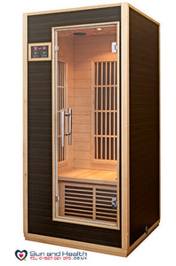 Harvia, Infrared Sauna, Sauna, Single Person Sauna, Sauna UK, Finnish Sauna, Home Sauna