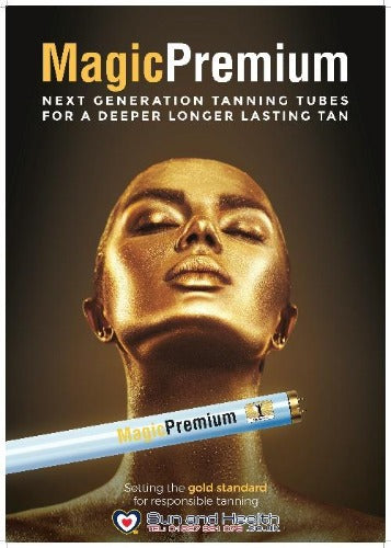 Magic Premium, Sunbed Tanning Lamps