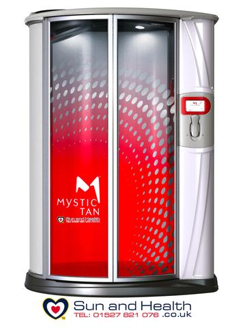 Commercial Spray Tan Booth, Mystic Tan Kyss