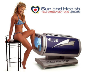 Leg Tanner Sunbed, Sol-Rapide, Sun and Health