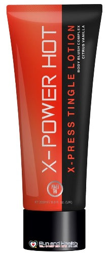 Power Tan Hot X-Press Tingle Sunbed Tanning Lotion