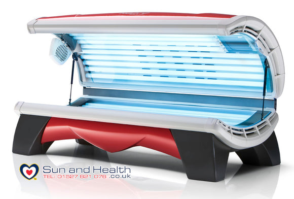 Hapro Proline C, Red Home Lie Down Sunbed