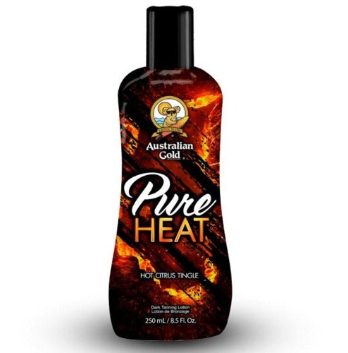Australian Gold Pure Heat, Tingle Sunbed Lotion