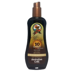 Australian Gold SPF 10 Spray Gel with Bronzer