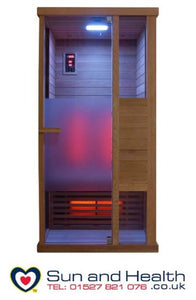 Sentiotec, Sentiotec Phonix, Home Sauna, Infrared Sauna, Saunas UK, Far Infrared Sauna, Finnish Sauna