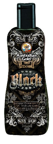Australian Gold Sinfully Black, Sunbed Lotion